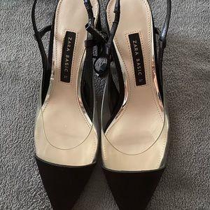 New Zara block heels
